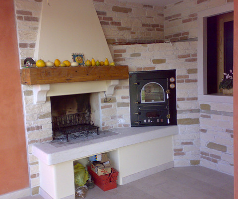 Forni per cucinare soluzioni di casa - Forno a legna in casa ...