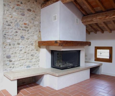 Riscaldamento parete soluzioni di casa for Piano anteriore del camino